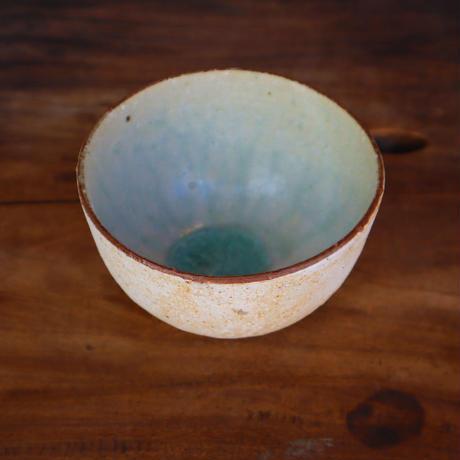 粉引灰釉小鉢「作家 水野幸一」(MZ20-20)