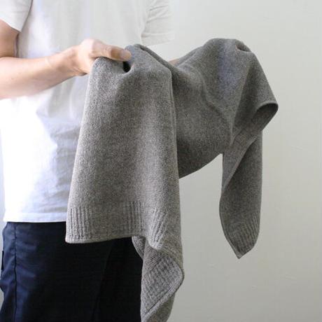 LANAラーナ ミニバスタオル(ブラウン)L【55×110cm】今治タオル