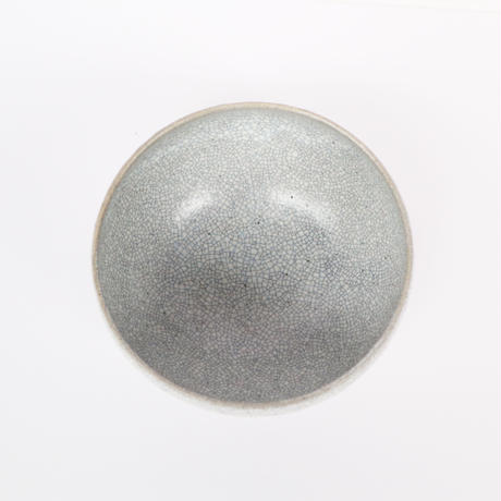 墨貫入丸鉢(大)「作家 水野幸一」(5-2)