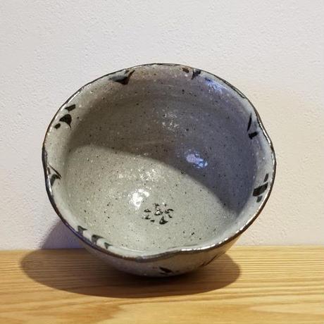 鉄絵小鉢「作家 藤田佳三」No.50