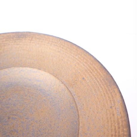 銅彩釉 リム鉢(大・浅め)「作家 水野幸一」(20-10)