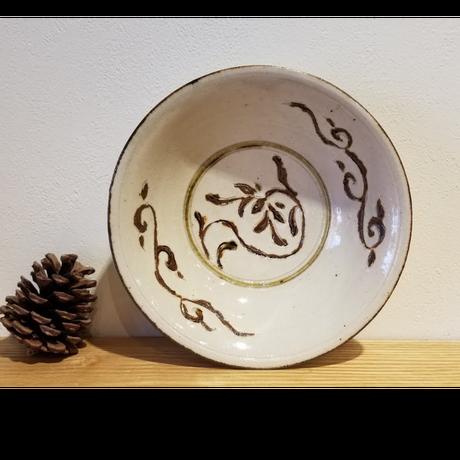 褐彩小鉢「作家 藤田佳三」No.42