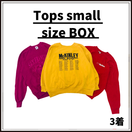 Tops small size BOX (3着)