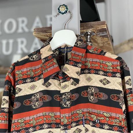 pattern shirt (611)
