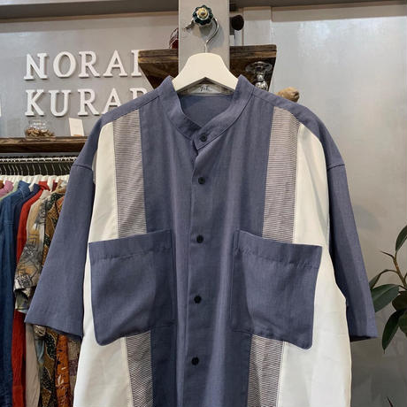 2color chambray shirt (694)