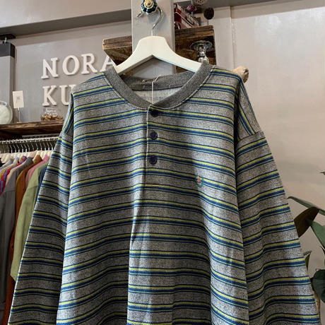 border long shirt (684)
