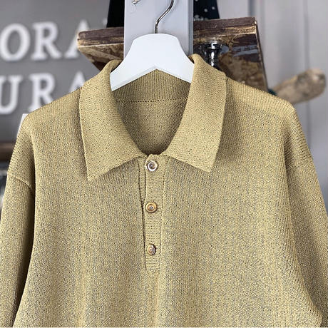 【sold out】simple Polo (633)