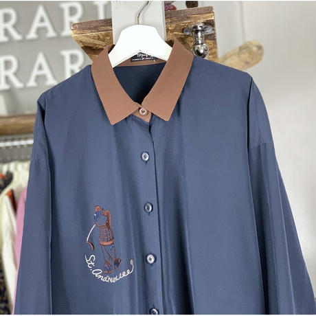 【sold out】simple shirt (661)