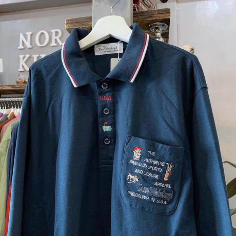 【sold out】one point polo-shirt (687)