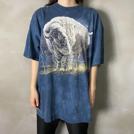 古着 バイソン 動物 アニマル Tシャツ