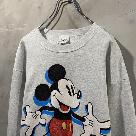 【Disney】Front design sweat