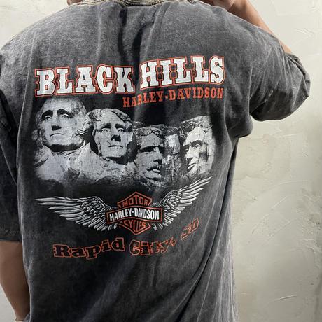 【HARLEY-DAVIDSON】Front design T- shirts
