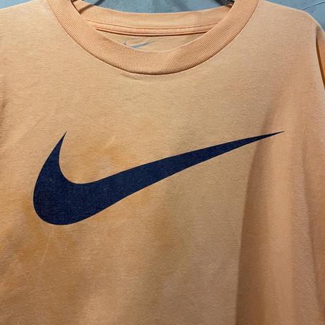 【NIKE】front big logo T-shirts