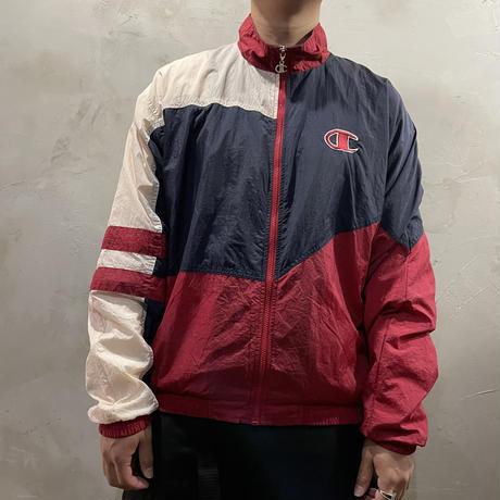 【Champion】One point nylon jacket