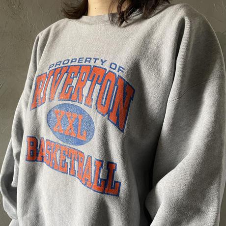 【Champion】Front design sweat