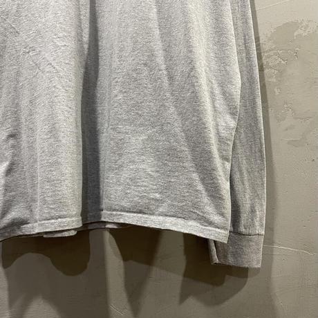 【Champion】Front print L/S-T shirts