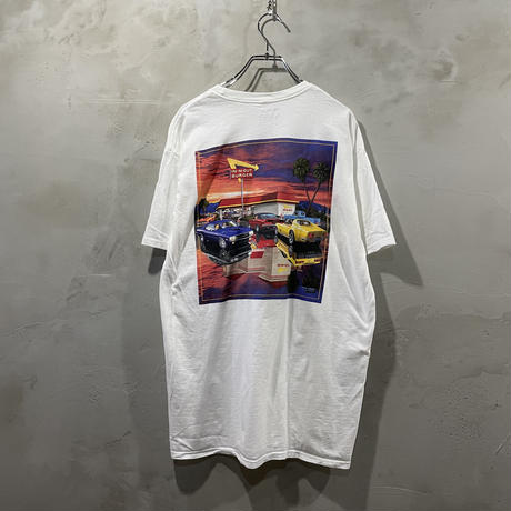 """""""IN-N-OUT"""" back design T-shirts"""