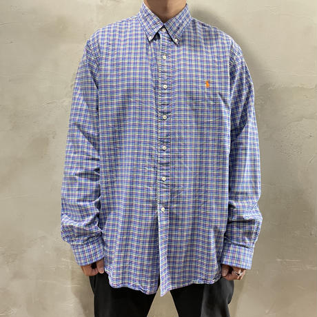 【POLO by RALPH LAUREN】One point logo L/S-shirts