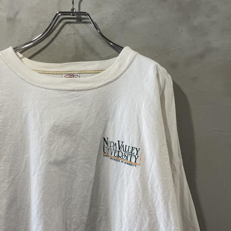 """""""College"""" back design cut&sew"""