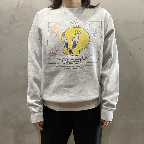 【LOONEY TUNES】Front design sweat