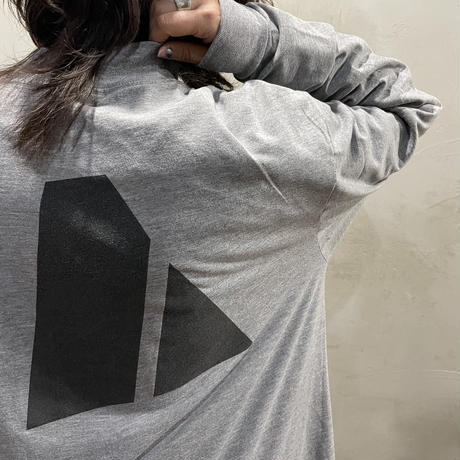 """●""""ARMY""""Front design L/S-T-shirts"""