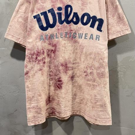 """""""Wilson"""" front design tie-dye T-shirts"""