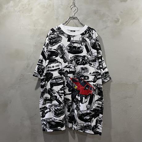 """Car"" pattern T-shirts"
