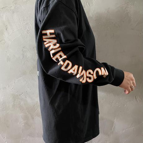 【HARLEY-DAVIDSON】back design L/S-T-shirts
