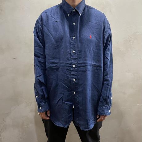 【POLO by RALPH LAUREN】Button-down L/S-shirts