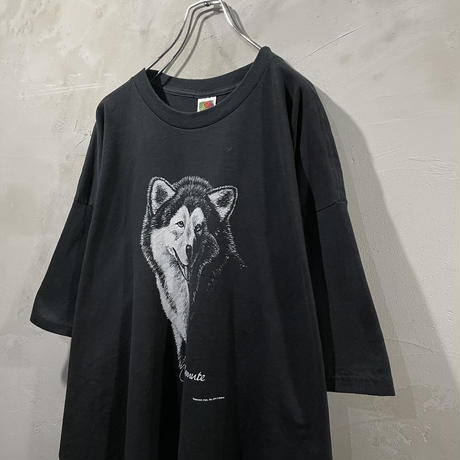 """Husky""Front design T-shirts"