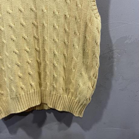 【POLO by RALPH LAUREN】 front logo vest