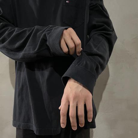 【TOMMY HILFIGER】back design L/S-T-shirts