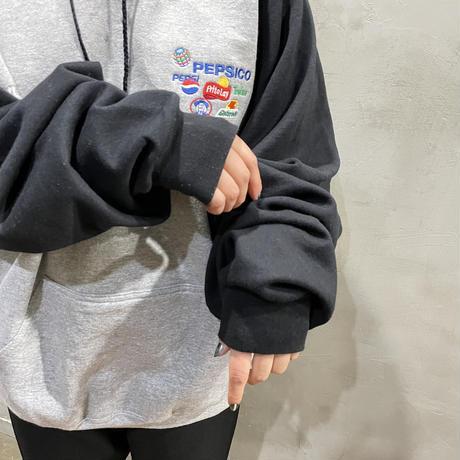 """PEPSI""One point design hoodie"