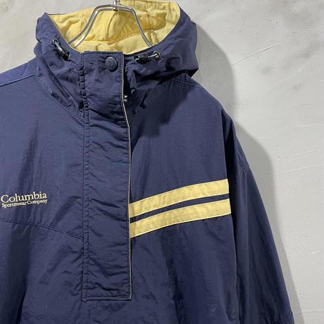【Columbia】Front logo anorak jacket