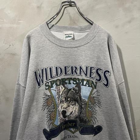 """Wolf""Front design sweat"