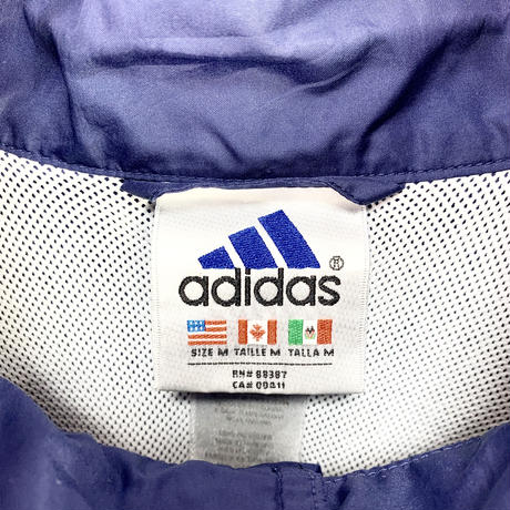 【adidas】90's Sporty half button jacket