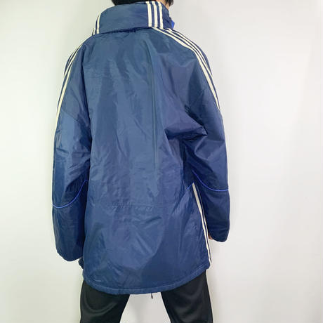【adidas】Sporty nylon coat