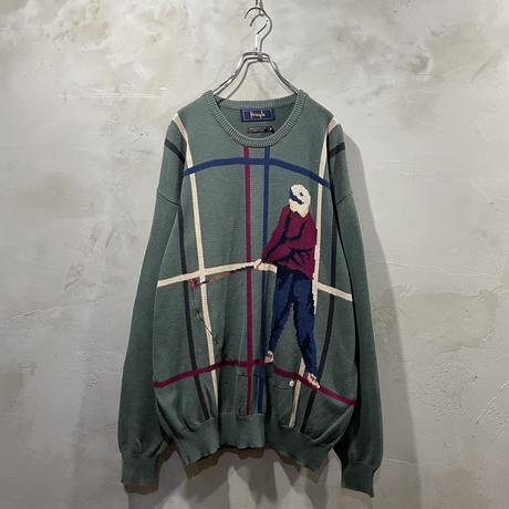"""Golf"" Front design knit"