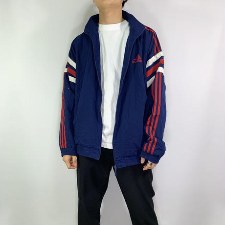 【adidas】Tricolore color jacket