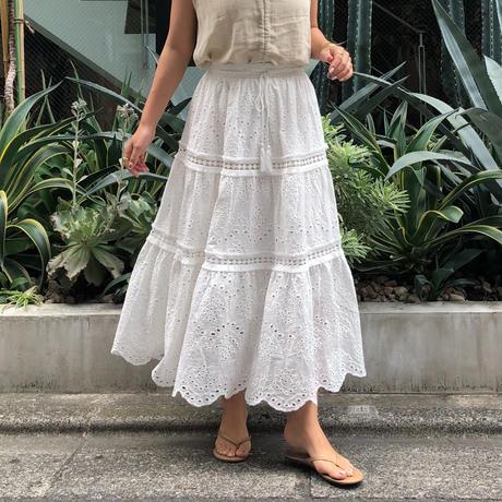 - Original - アイレットレースLongスカート