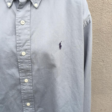 Polo light blue one point shirts