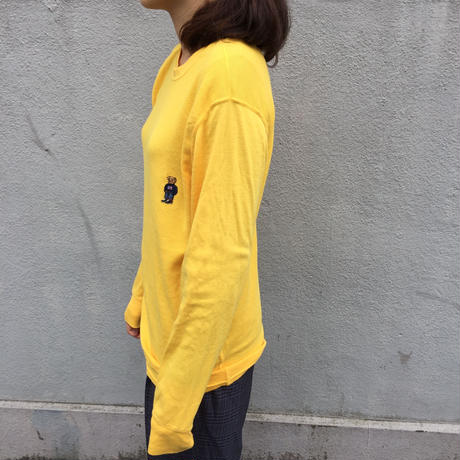 Polo yellow bear thermal