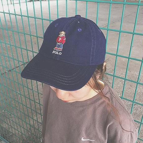 Navy polo bear cap(Polo Ralph Lauren)