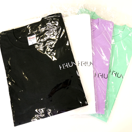 [Tシャツ]HFU -Geometry logo-  Light Purple T-Shirts