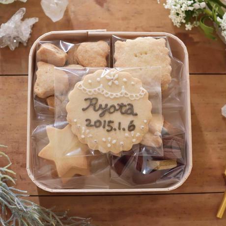 【予約販売品】焼き菓子ボックス(オーダークッキー付)
