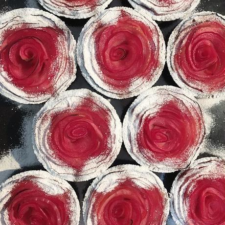 【個包装・冷凍】タルトタタンとりんごのばら2つずつ(送料別)