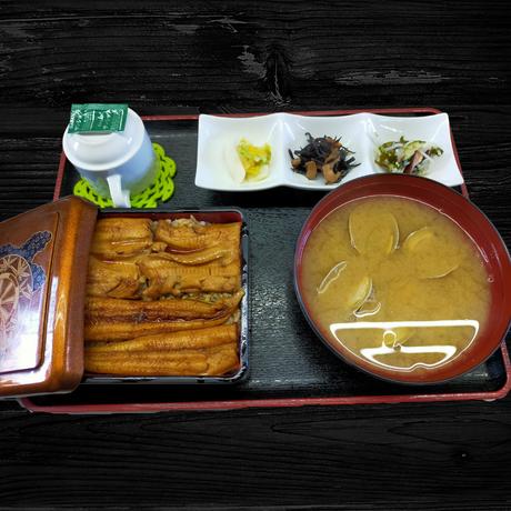 煮あなご丼(はかりめ丼)定食