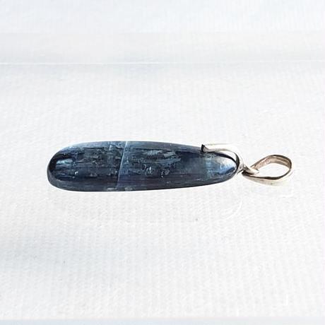 【ヒマラヤの青い石】カイヤナイトヒーリングペンダント No.1(860-15-01)