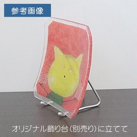 【水吉郁子】顔のお皿 515(19001-515)