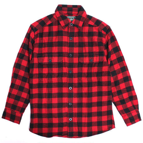 WOOLRICH(ウールリッチ)【6111-RB3】-L/S SHIRT-MNS OXBOW BEND FLNNL-RED/BLACK